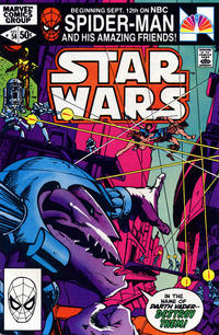 Cover Thumbnail for Star Wars (Marvel, 1977 series) #54 [Direct]