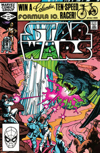 Cover Thumbnail for Star Wars (Marvel, 1977 series) #55 [Direct]
