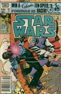 Cover Thumbnail for Star Wars (Marvel, 1977 series) #56 [Newsstand]