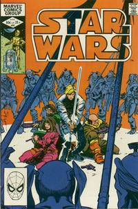 Cover Thumbnail for Star Wars (Marvel, 1977 series) #60 [Direct Edition]