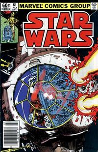 Cover Thumbnail for Star Wars (Marvel, 1977 series) #61 [Newsstand]