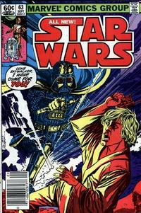 Cover Thumbnail for Star Wars (Marvel, 1977 series) #63 [Newsstand]