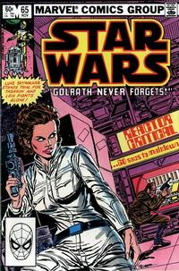 Cover Thumbnail for Star Wars (Marvel, 1977 series) #65 [Direct]
