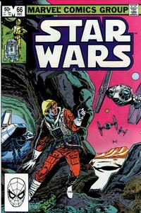 Cover Thumbnail for Star Wars (Marvel, 1977 series) #66 [Direct]