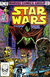 Cover Thumbnail for Star Wars (Marvel, 1977 series) #67 [Direct]