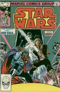 Cover for Star Wars (Marvel, 1977 series) #71 [Direct Edition]