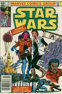 Cover Thumbnail for Star Wars (Marvel, 1977 series) #73 [Newsstand]