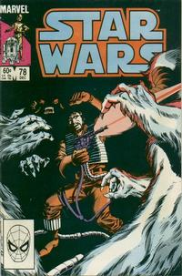 Cover Thumbnail for Star Wars (Marvel, 1977 series) #78 [Direct]