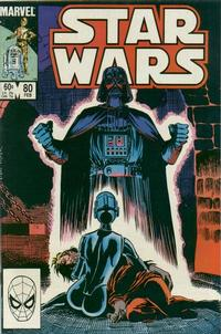 Cover Thumbnail for Star Wars (Marvel, 1977 series) #80 [Direct]