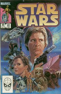 Cover Thumbnail for Star Wars (Marvel, 1977 series) #81 [Direct]