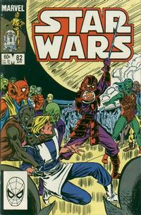 Cover Thumbnail for Star Wars (Marvel, 1977 series) #82 [Direct]