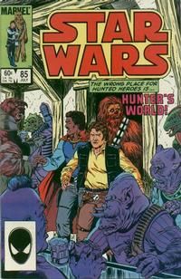 Cover Thumbnail for Star Wars (Marvel, 1977 series) #85 [Direct]