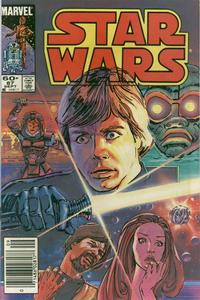 Cover Thumbnail for Star Wars (Marvel, 1977 series) #87 [Newsstand Edition]