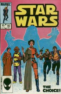Cover Thumbnail for Star Wars (Marvel, 1977 series) #90 [Direct Edition]