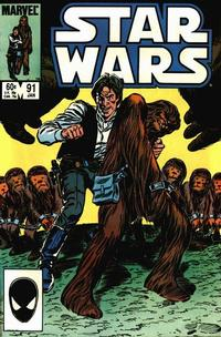 Cover Thumbnail for Star Wars (Marvel, 1977 series) #91 [Direct]