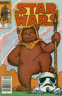 Cover Thumbnail for Star Wars (Marvel, 1977 series) #94 [Newsstand]