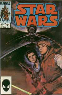 Cover Thumbnail for Star Wars (Marvel, 1977 series) #95 [Direct Edition]