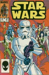 Cover Thumbnail for Star Wars (Marvel, 1977 series) #97 [Direct]