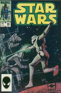 Cover Thumbnail for Star Wars (Marvel, 1977 series) #98 [Direct]