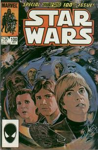 Cover for Star Wars (Marvel, 1977 series) #100 [Newsstand]