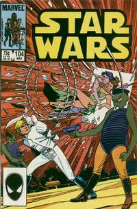 Cover Thumbnail for Star Wars (Marvel, 1977 series) #104 [Direct]