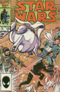 Cover Thumbnail for Star Wars (Marvel, 1977 series) #105 [Direct]
