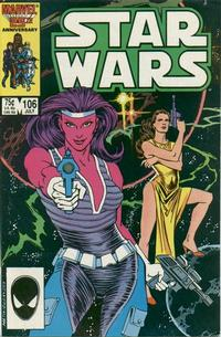 Cover Thumbnail for Star Wars (Marvel, 1977 series) #106 [Direct Edition]