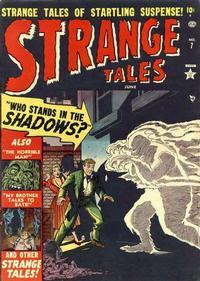Cover Thumbnail for Strange Tales (Marvel, 1951 series) #7