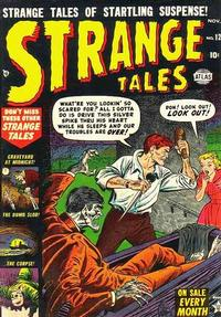 Cover Thumbnail for Strange Tales (Marvel, 1951 series) #12