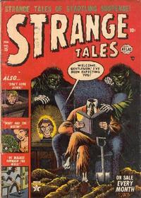 Cover Thumbnail for Strange Tales (Marvel, 1951 series) #15
