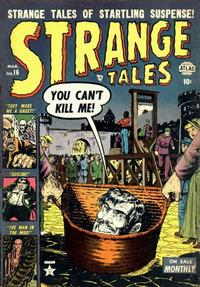 Cover Thumbnail for Strange Tales (Marvel, 1951 series) #16