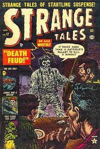 Cover Thumbnail for Strange Tales (Marvel, 1951 series) #17