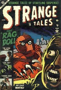 Cover Thumbnail for Strange Tales (Marvel, 1951 series) #19