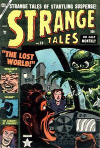 Cover Thumbnail for Strange Tales (Marvel, 1951 series) #20