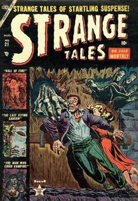 Cover for Strange Tales (Marvel, 1951 series) #21