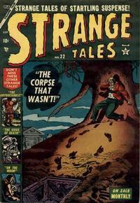 Cover Thumbnail for Strange Tales (Marvel, 1951 series) #22
