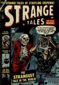 Cover Thumbnail for Strange Tales (Marvel, 1951 series) #23