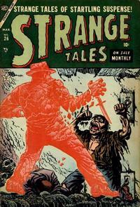 Cover Thumbnail for Strange Tales (Marvel, 1951 series) #26
