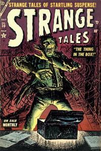Cover Thumbnail for Strange Tales (Marvel, 1951 series) #30