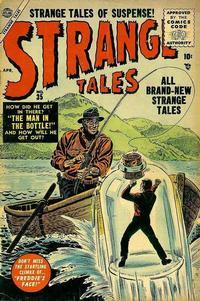 Cover Thumbnail for Strange Tales (Marvel, 1951 series) #35