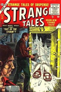 Cover Thumbnail for Strange Tales (Marvel, 1951 series) #37