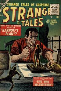Cover Thumbnail for Strange Tales (Marvel, 1951 series) #39
