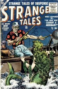 Cover Thumbnail for Strange Tales (Marvel, 1951 series) #40