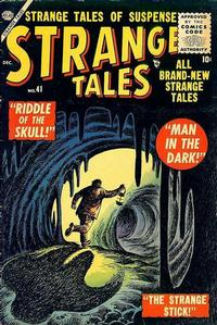 Cover Thumbnail for Strange Tales (Marvel, 1951 series) #41