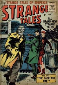 Cover for Strange Tales (Marvel, 1951 series) #42