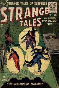 Cover for Strange Tales (Marvel, 1951 series) #43
