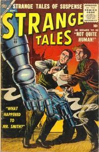 Cover Thumbnail for Strange Tales (Marvel, 1951 series) #49