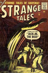 Cover Thumbnail for Strange Tales (Marvel, 1951 series) #55
