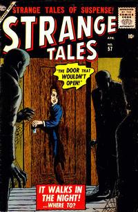 Cover Thumbnail for Strange Tales (Marvel, 1951 series) #57