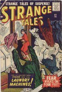 Cover for Strange Tales (Marvel, 1951 series) #61